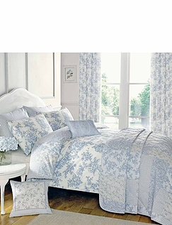 Malton Reversible Quilted Bedspread