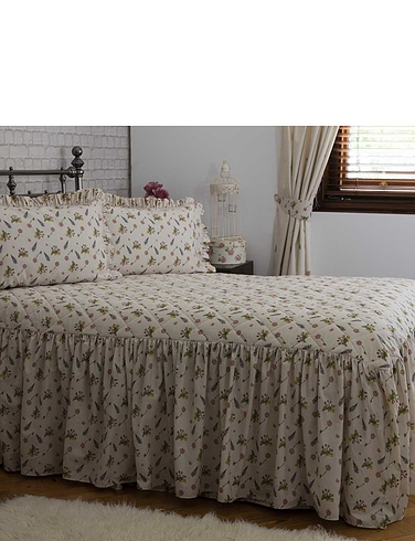 Bella Mae Quilted Fitted Bedspread