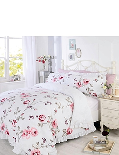 Arabella Frilled Quilt Cover Set