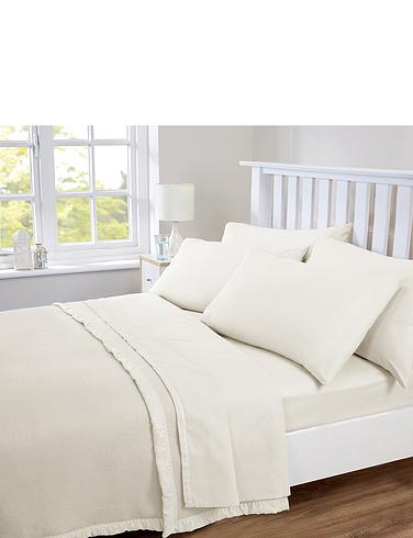 Plain Poly/Cotton Sheet Set