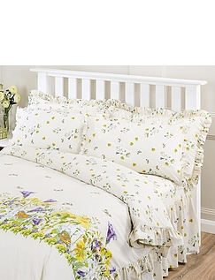 Bluebell Meadow by Belledorm Frilled Pillowcase