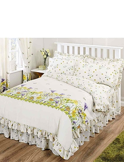 Bluebell Meadow By Belledorm - Fitted Valance/Sheet