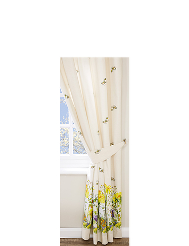 Bluebell Meadow by Belledorm Lined Curtains