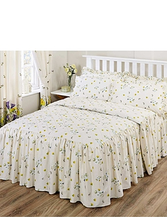 Bluebell Meadow By Belledorm - Quilted Bedspread