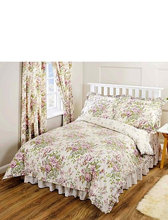 Rose Boutique Fitted Valance Sheet
