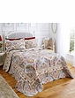 Floral Paisley Quilted Bedspread Set