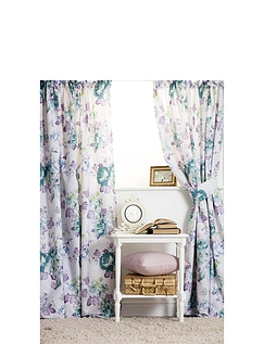 Melody Lined Curtains With Free Tie-Backs