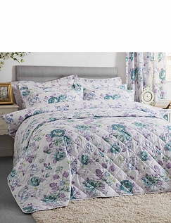 Melody Quilted Throw-Over Bedspread