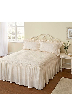 Monique Quilted Bedspread By Vantona