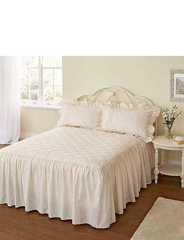 Monique Quilted Bedspread By Vantona