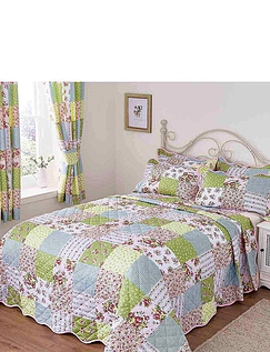 Sarah Quilted Patchwork Pillowshams