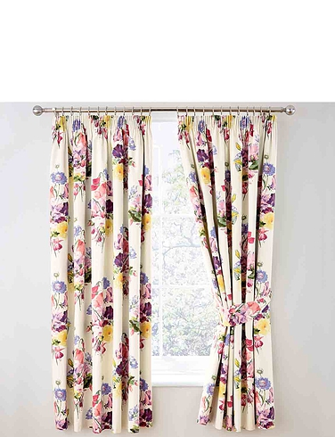 Floral Bouquet - Thermal Lined Blackout Curtains