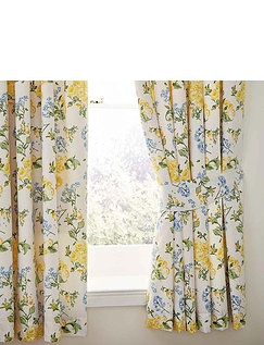 Arabella Collection by Belledorm Lined Curtains and Free Tie-backs