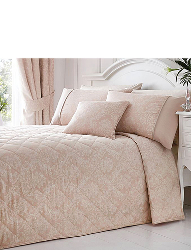 Laurent Luxury Jacquard Quilted Bedspread