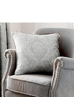 Laurent Luxury Jacquard Filled Cushion