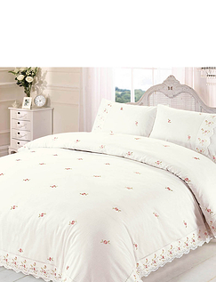Sophie Embriodered Quilt Cover Set