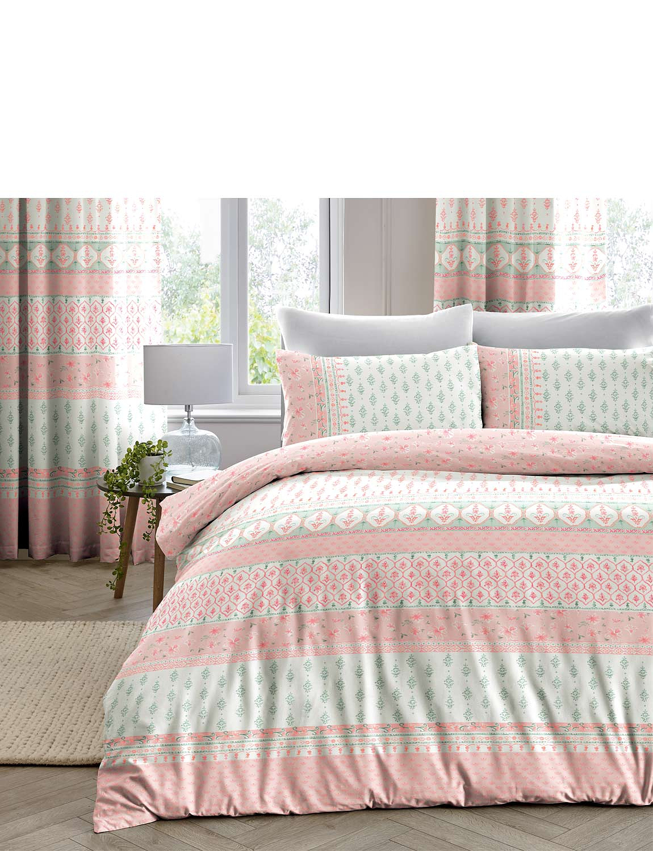 Elodi Quilt Cover Set - Blush Pink