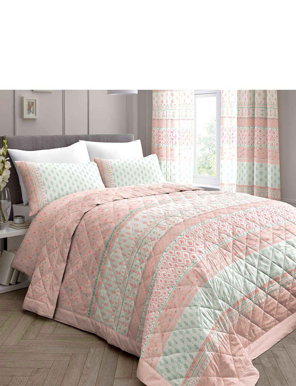 Elodi Bedspread - Blush Pink