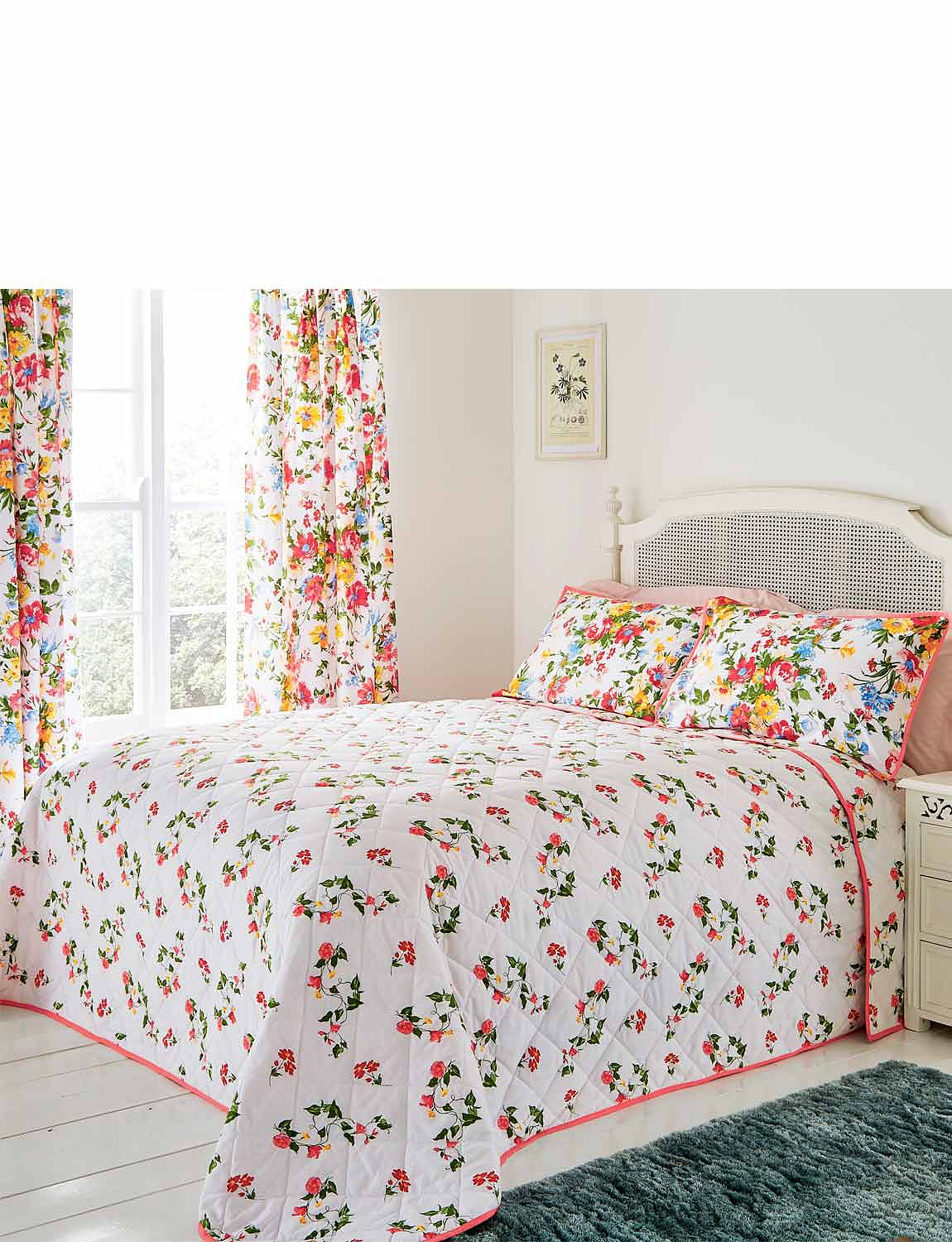 Mia Quilted Bedspread by Belledorm - MULTI
