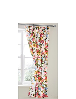 Mia Lined Curtains and Free Tiebacks By Belledorm