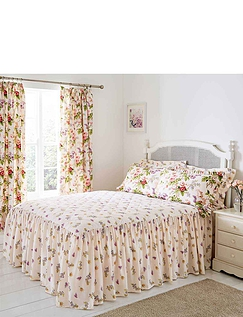Delphine Quilted Bedspread by Belledorm