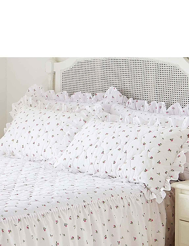 Rosebud Pillowsham Pair