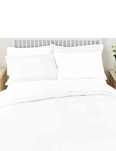 Superfine 200 Count Percale Poly/Cotton 15 Inch Extra Deep Fitted Sheet By Belledorm