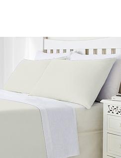Plain Poly Cotton Pillowcases