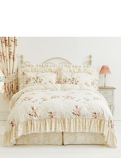 Charlotte Quilt Cover Set by Vantona