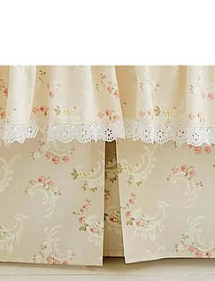 Charlotte Fitted Valance Sheet by Vantona