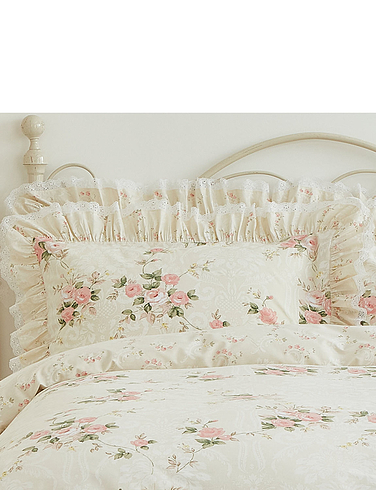 Charlotte Frilled and Laced Extra Pillowcases