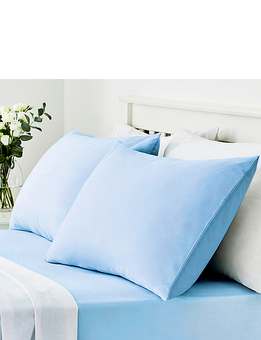 Easy Care 180 Thread Count Cotton Housewife Pillowcases