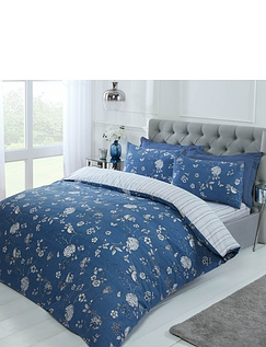 Country Toile Quilt Cover Set