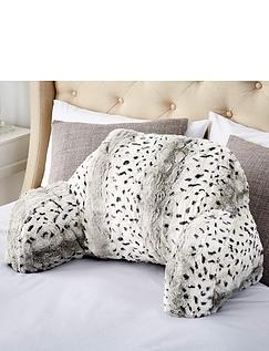 Downland Snow Leopard Cuddle Cushion