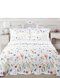 Meadow Quilted Bedspread Set