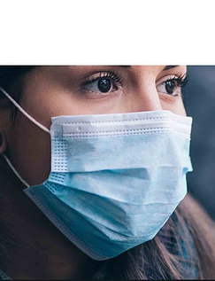Set Of 10 Disposable Face Masks