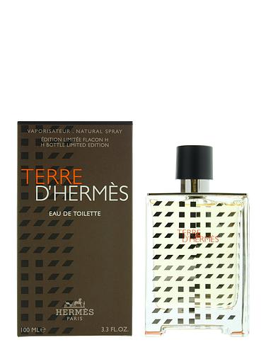 Hermes Terre D'hermes H Bottle Limited Edition Eau de Toilette 100ml