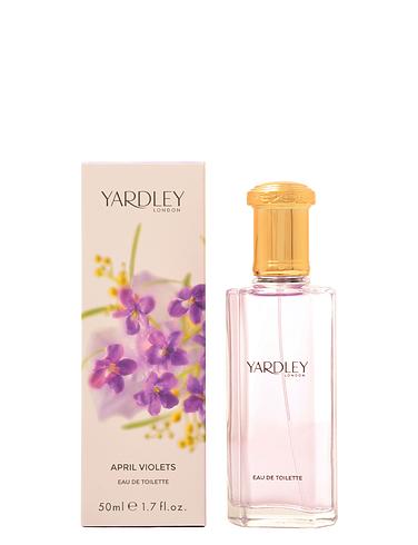 Yardley April Violets Eau de Toilette 50ml