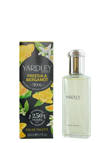 Yardley Freesia and Bergamot  Eau De Toilette 50ml