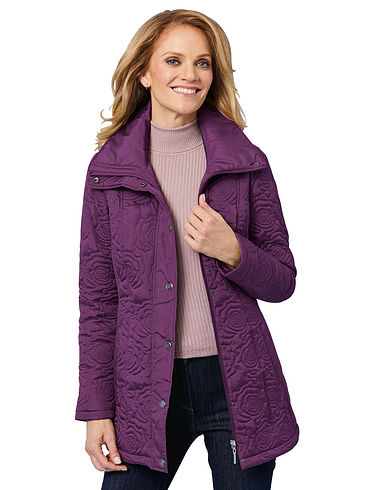 Embroidered Padded Jacket