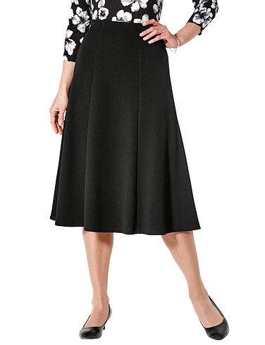 Textured Jersey Skirt